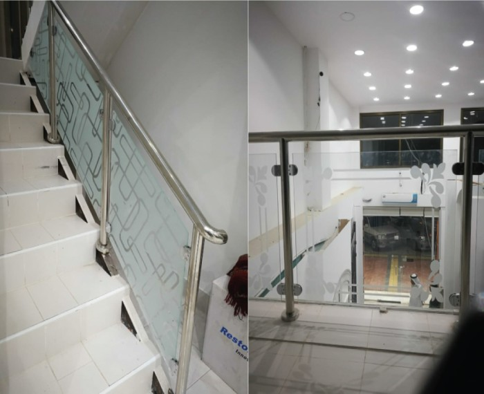 handrail glass design systems